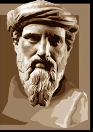 др.-греч. Πυθαγόρας ὁ Σάμιος  , лат.Pythagoras