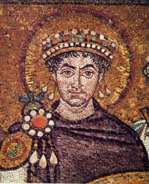 лат.Flavius Petrus Sabbatius Iustinianus , греч. Φλάβιος Πέτρος Σαββάτιος Ιουστινιανός