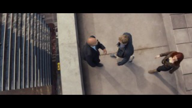 Interrogation on the roof