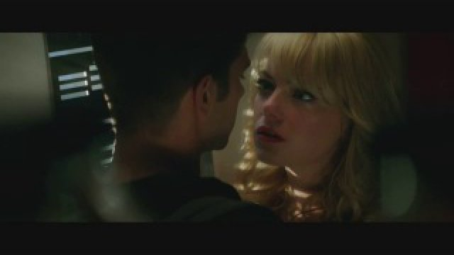 The Amazing Spider-Man 2 Movie Clip #2 - Peter and Gwen Kiss