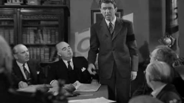 James Stewart - George Bailey's Speech to Potter the Loan Board